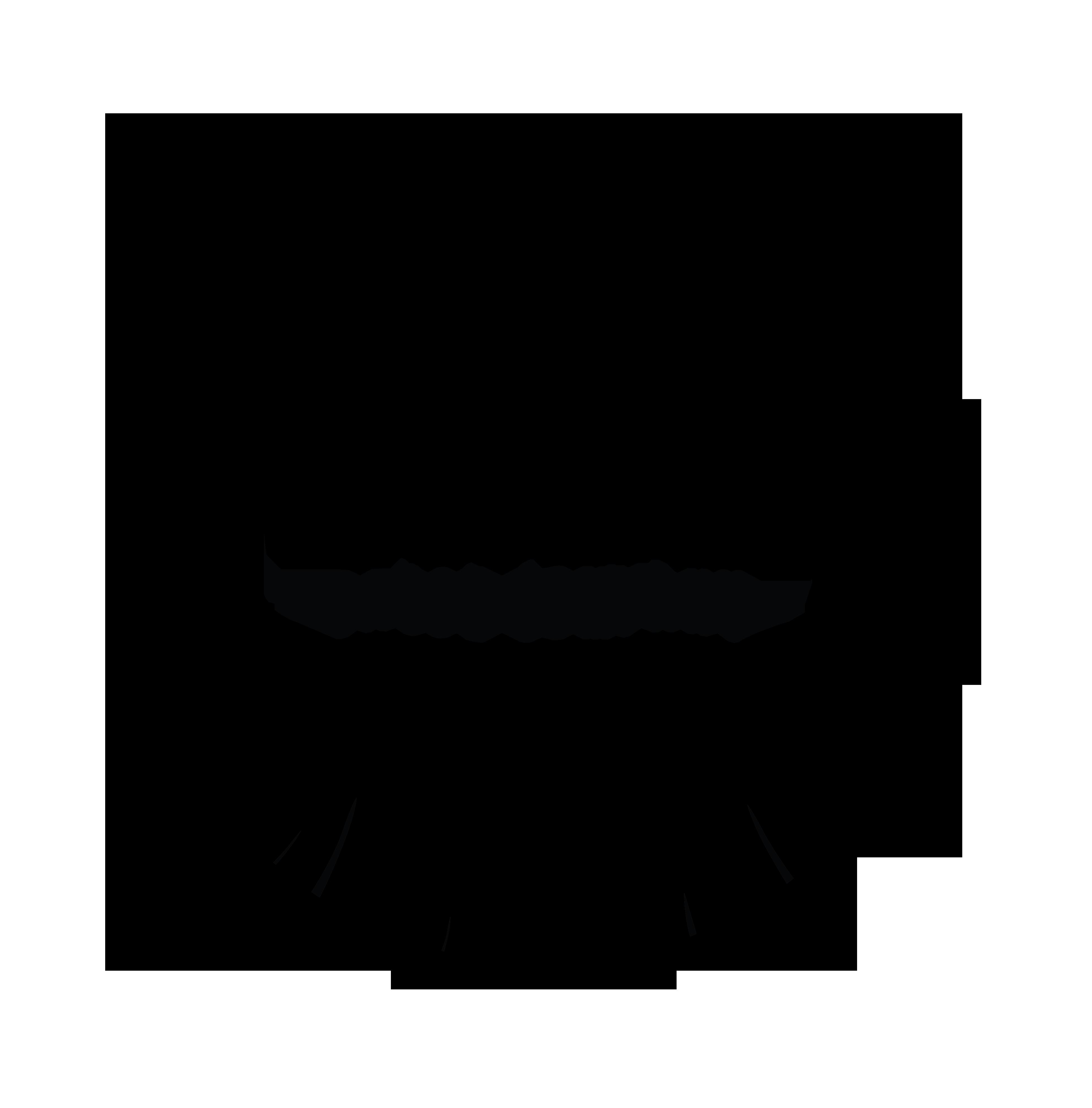 A Frame Logo in circle