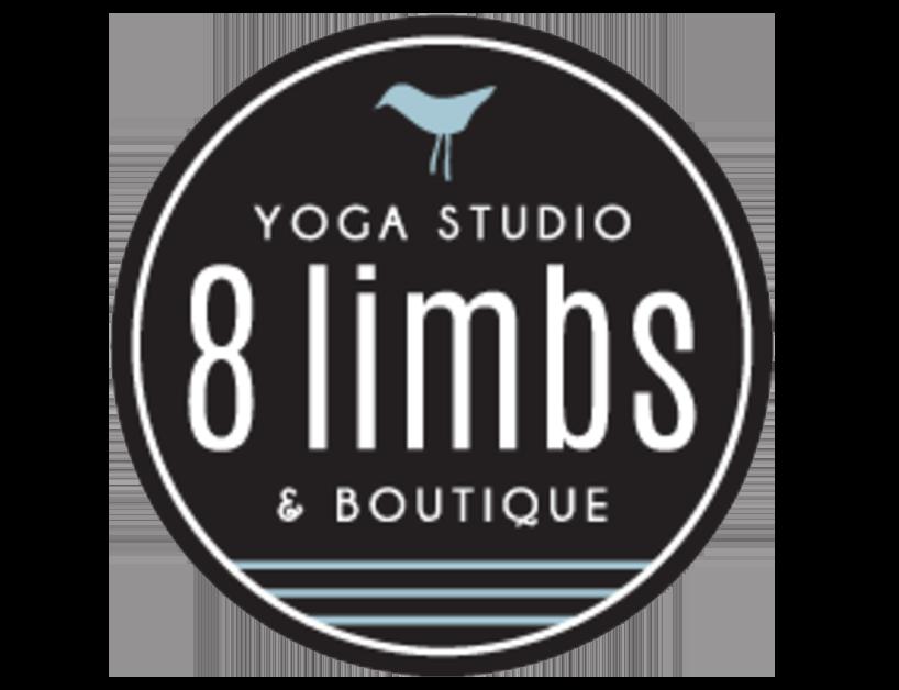 8 Limbs yoga logo design